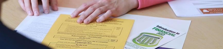 financial aid paperwork