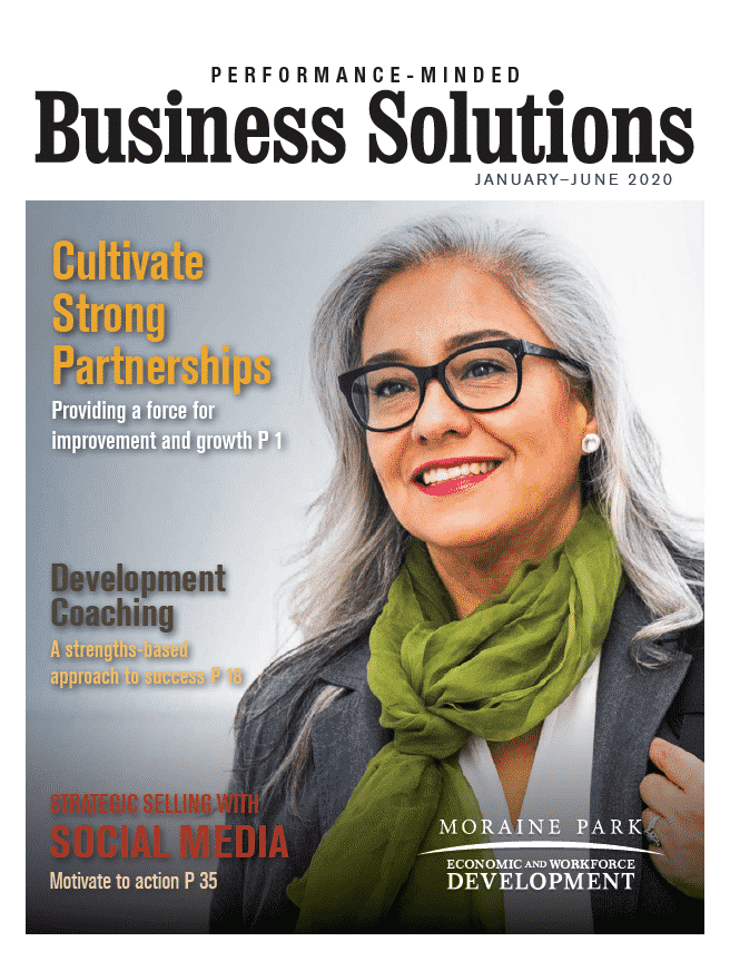 business solutions magazine cover