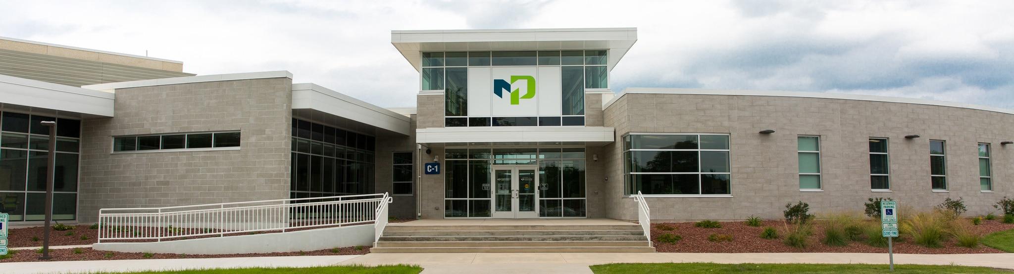 MPTC's main entrance