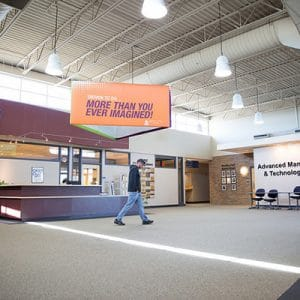 campus building interior