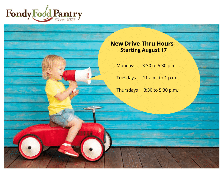 fond du lac food pantry