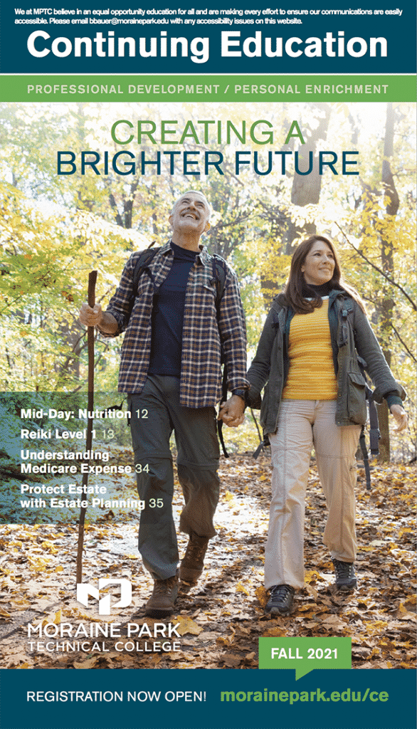 continuing education fall schedule cover