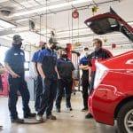 Automotive Technology's service center classroom (Fond du Lac)